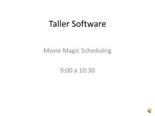 Introduccion Movie Magic
