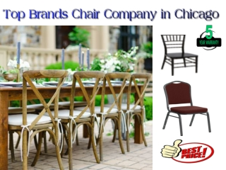 Top Brands Chair Company in Chicago