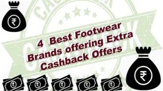 4Best Footwear BrandsOffering Extra Cashback Offers