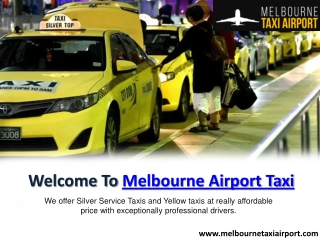 How to Get Melbourne Taxi to Airport Transfers