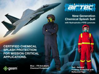 Blue – FR/Anti-Static Chemical Protection