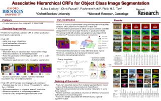 Associative Hierarchical CRFs for Object Class Image Segmentation