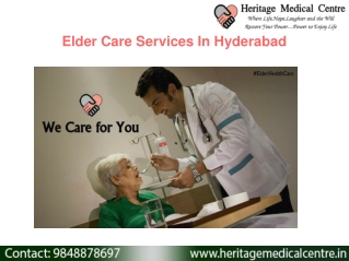 Elderly Home Care Services In Hyderabad