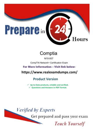 CompTIA N10-007 Exam Best Study Guide - N10-007 Exam Questions Answers