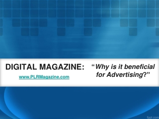 How To Get Free Advertising Through Digital Magazines