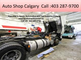 Auto Repair Shop Calgary
