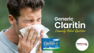 Generic Claritin: Commonly Asked Questions