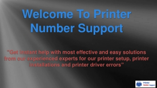 Printer Repair Service - printernumbersupport.com
