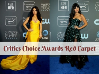 Critics' Choice Awards 2019 Red Carpet Fashion