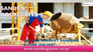 Sand Bags Store Online in New Zealand