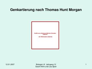 Genkartierung nach Thomas Hunt Morgan