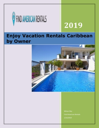 Enjoy Vacation Rentals Caribbean by Owner