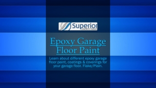 Professional Epoxy garage floor coating Brisbane