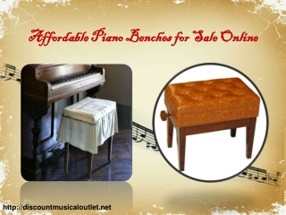 Affordable Piano Benches for Sale Online