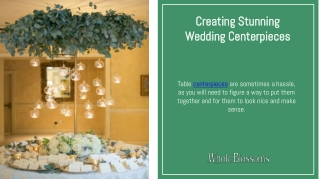 Make Your Decor More Attractive with Wedding Centerpieces