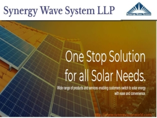 Purchase the Finest Products from Solar EPC Company