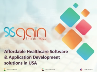 Find the Top Healthcare development solutions | SISGAIN