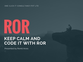Develop your website with ROR