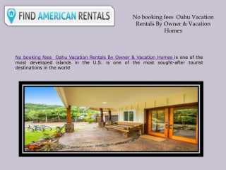 No booking fees  Oahu Vacation Rentals By Owner & Vacation Homes