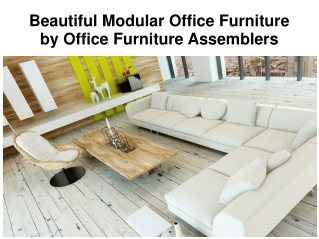 Commercial-Office Furniture Services in Maryland