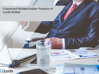 Customized Molded Rubber Products of Lusida Rubber