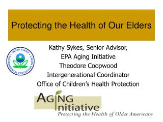 Protecting the Health of Our Elders