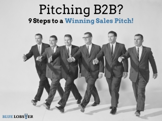 How to Pitch B2B