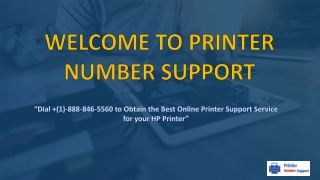 Printer Issues - printernumbersupport.com