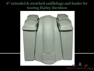 Extended & Stretched Saddlebags
