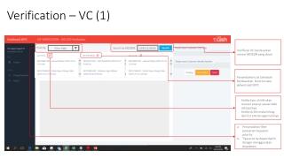 Verification – VC (1)