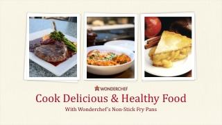Non-Stick Fry Pans by Wonderchef
