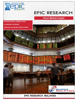 Epic Research Malaysia Daily Forex Report 21st Jan 2019