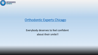 Invisalign Treatment Chicago By Orthodontic Experts