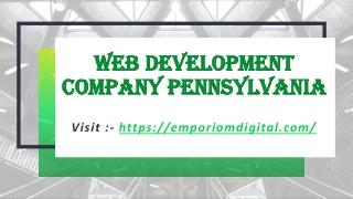 Web Development Company Pennsylvania
