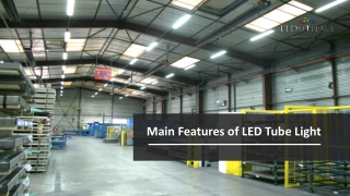 LED Tube Lights-Features