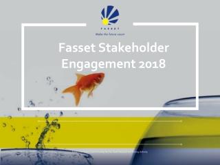 Fasset Stakeholder Engagement 2018