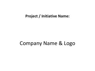 Company Name & Logo