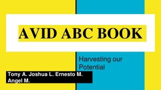 AVID ABC BOOK