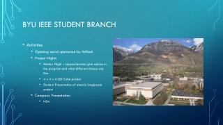 BYU IEEE Student Branch