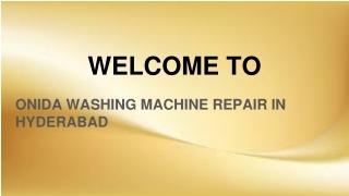 Onida Washing Machine Repair in Hyderabad