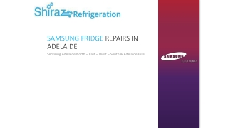 Samsung Fridge Repairs in Adelaide