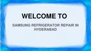 Samsung Refrigerator Repair In Hyderabad