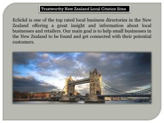 Trustworthy New Zealand Local Citation Sites