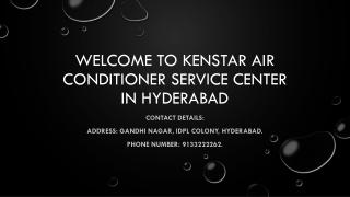 Kenstar air conditioner service center in Hyderabad