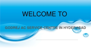 Godrej Ac Service Centre In Hyderabad