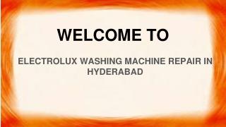 Electrolux Washing Machine repair In Hyderabad