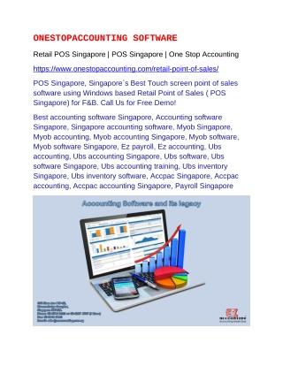 Retail POS Singapore   POS Singapore
