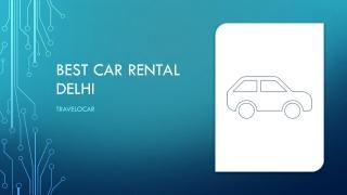Top car hire in Delhi