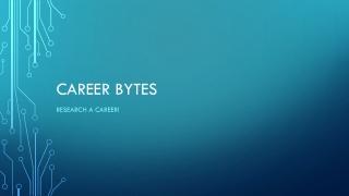 Career Bytes