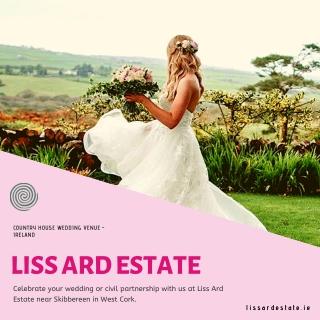 country house wedding venue Ireland -Liss Ard Estate